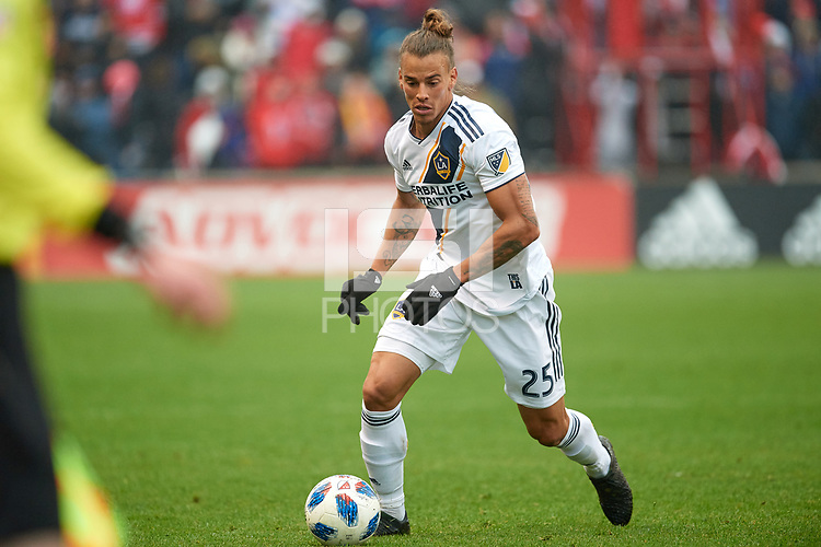 Bridgeview, IL - Saturday April 14, 2018: Rolf Feltscher during a regular season Major League Soccer (MLS) match between the Chicago Fire and the LA Galaxy at Toyota Park.  The LA Galaxy defeated the Chicago Fire by the score of 1-0.