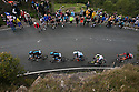 11/09/15<br /> <br /> Team Sky riders, Ian Stannard (number 24) and Wout Poels (number 25) lead the race up Millstone Edge, the first big climb of the day near Hathersage in the Derbyshire Peak District, on the 6th stage of Tour of Britain which today sees riders take on a 192 mile route from Stoke-on-Trent to Nottingham.<br /> <br /> All Rights Reserved: F Stop Press Ltd. +44(0)1335 418365   www.fstoppress.com.