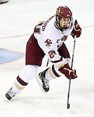 Matt Lombardi (BC - 24) - The Boston College Eagles defeated the University of Massachusetts-Amherst Minutemen 5-2 on Saturday, March 13, 2010, at Conte Forum in Chestnut Hill, Massachusetts, to sweep their Hockey East Quarterfinals matchup.