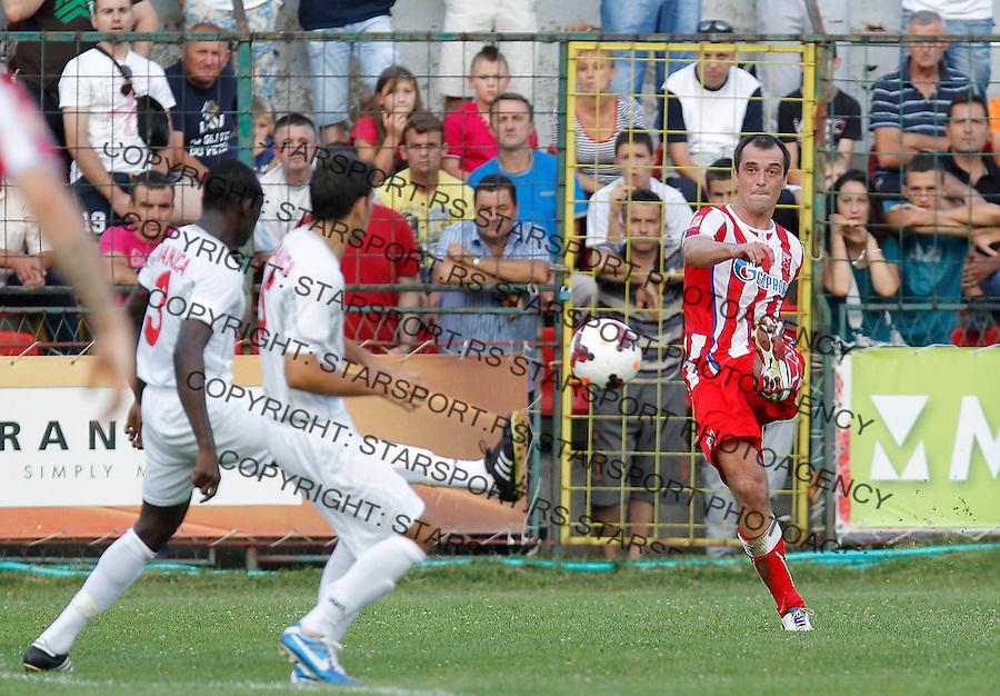 Fudbal Super liga season 2013-2014<br /> Javor v Crvena Zvezda <br /> Nenad Milijas<br /> Ivanjica, 11.08.2013.<br /> foto: Srdjan Stevanovic/Starsportphoto &copy;