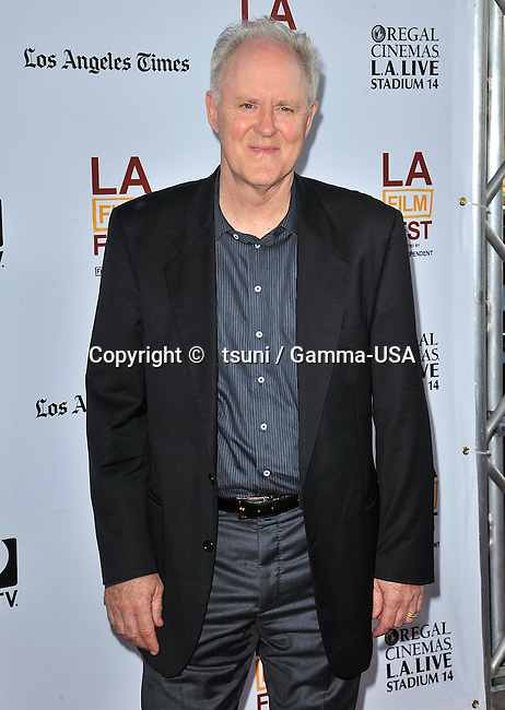 John Lithgow   at the I'm So Excited Premiere at Regal Theatre In Los Angeles.
