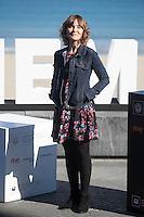 Actress Nagore Aranburu poses during `Amama´ film presenation at 63rd Donostia Zinemaldia (San Sebastian International Film Festival) in San Sebastian, Spain. September 21, 2015. (ALTERPHOTOS/Victor Blanco) /NortePhoto.com