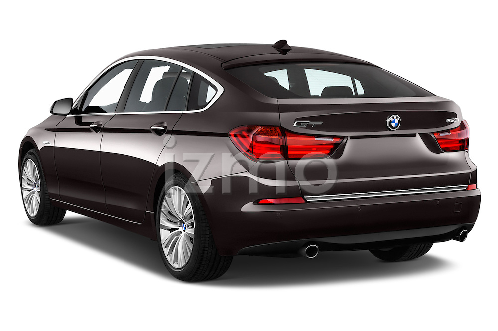 Car pictures of rear three quarter view of 2015 BMW 5 Series 535i Gran Turismo Luxury Line 5 Door Hatchback Angular Rear