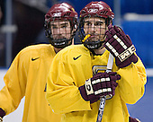 (Brett Motherwell) Peter Harrold - The Boston College Eagles took their morning skate on Saturday, April 8, 2006, at the Bradley Center in Milwaukee, Wisconsin to prepare for the 2006 Frozen Four Final game versus the University of Wisconsin.