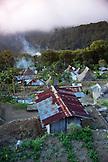 INDONESIA, Flores, birds eye view of Saga Village