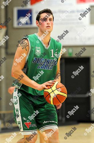 2012-09-04 / Basketbal / seizoen 2012-2013 / Oxaco basket / Gabriel Ritchie..Foto: Mpics.be