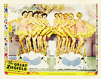 The Great Ziegfeld (1936) <br /> Lobby card  <br /> *Filmstill - Editorial Use Only*<br /> CAP/MFS<br /> Image supplied by Capital Pictures