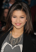 LOS ANGELES, CA - FEBRUARY 22: Zendaya Coleman  attends the 'John Carter' Los Angeles premiere held at the Regal Cinemas L.A. Live on February 22, 2012 in Los Angeles, California.