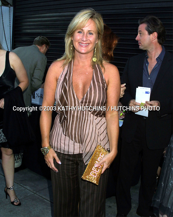 ©2003 KATHY HUTCHINS/ HUTCHINS PHOTO.PROJECT ANGEL FOOD ANNUAL BENEFIT DINNER.LOS ANGELES, CA.AUGUST 9, 2003..KELLY STONE