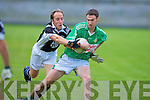 Ardfert's Niall Clifford and Killarney Legion's Mike O'Sullivan.