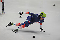 SHORTTRACK: DORDRECHT: Sportboulevard Dordrecht, 24-01-2015, ISU EK Shorttrack Ranking Races, Vincent JEANNE (FRA | #20), ©foto Martin de Jong