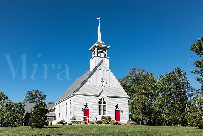 Charming Two Ridges Presbyterian Church, Wintersville, Ohio, USA