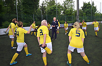 "The women's soccer team of Vatican City. 26 may 2019<br /> the coach of the Vatican representative Gianfranco Guadagnoli<br /> <br /> Women's football arrives at the Vatican, with what can be considered in all respects the women's national football team of the Holy See. The Vatican representative, announced in recent weeks, made its debut yesterday afternoon, Sunday 26 May, in the sports center of the Knights of Columbus, against the Roma women's team of Roma.<br /> The girls that make up the team are all Vatican employees or wife and daughters of staff of the Holy See, plus some players from the Bambino Gesù hospital team who joined for this 11-a-side football match. «We are born in an amateur way - he tells the attacker and captain of the Vatican Eugene Tcheugoue - and playing together represents for us above all a way to get to know and be together ».<br /> <br /> The young soccer player, a graduate in theology and a native of Cameroon, has no doubts about the great important symbolism of the team: ""Many of us are mothers even before they are employees or at least daughters and wives, so in the first place for us is the metaphor of football as a gym of life. Sport in general - says Eugene Tcheugoue - conveys a fundamental message, both for the new generations and in particular for women ""."