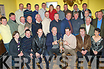6493-6497.Family Members of the late James Harty presenting Michael O'Halloran, Chairman, and the Committee of the Ballyheigue Ploughing Association with the James Harty Memorial Cup in Flahive's Bar on Friday night..waiting on names................................................................................................................ ............