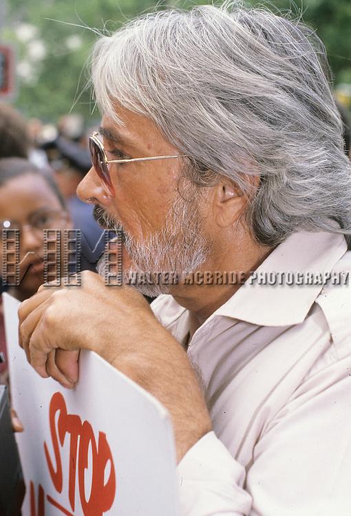 John Derek pictured in New York City on July 22, 1981.