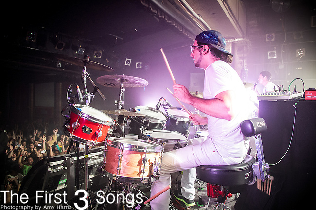 Jeremy Salken of Big Gigantic performs at Bogarts in Cincinnati, Ohio.