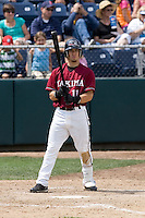 July 6, 2008: The Yakima Bears' Collin Cowgill at-bat during a Northwest League game against the Everett AquaSox at Everett Memorial Stadium in Everett, Washington.