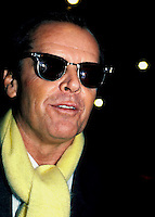 Jack Nicholson By Jonathan Green NYC