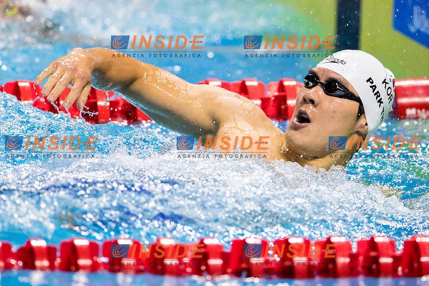 PARK Taehwan KOR Gold Medal<br /> Men's Freestyle 400m<br /> 13th Fina World Swimming Championships 25m <br /> Windsor  Dec. 6th, 2016 - Day01 Finals<br /> WFCU Centre - Windsor Ontario Canada CAN <br /> 20161206 WFCU Centre - Windsor Ontario Canada CAN <br /> Photo &copy; Giorgio Scala/Deepbluemedia/Insidefoto