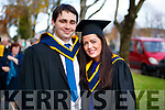 Niall Stack, Listowel, who graduated in Software Development and Joanna Carmody, Listowel, who graduated in Mental Health Nursing, from IT Tralee, on Friday last at the Brandon Conference Centre, Tralee.