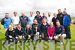 Munster Mixed Foursomes : Members of Castleisland Golf club who took part in the Munster mixed foursomes competition held in Ballybunion Golf club on Saturday last. Front : Brendan Mullen, Sheamus O'Neill, John Haugh, Maire Greaney, Liz Downey, Marie O'Connor & Leila Moloney. Back : Denis O'Donovan, Shaun Walsh, Eamonn O'Connor, Marian O'Connor, Liz Galwey, Mary O'Neill, Nancy Fleming, Margaret Sheehan, Jame O'Dowd & Brian Lenihan.