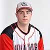 Nick Carita of Island Trees poses for a portrait during Newsday's varsity baseball season preview photo shoot at company headquarters in Melville on Friday, March 23, 2018.