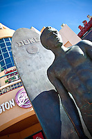 Surf Statue Duke Kahanamoku In Huntington Beach