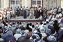 Irak 1991.Massoud Barzani à Rowandouz .Iraq 199.Massood Barzani iln Rowanduz