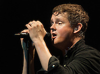 Tom Chaplin of Keane plays The Boston House of Blues in their tour opening performance.