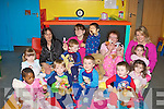 PJYAMAS:Children from the Sunflower pre-school,at CDF,Rock Street, Tralee on Friday held a pyjamas day with their minders.(children) MJ McCarthy, Semilore Babalola, Nathan Ahern, Colleen Sayers, David Rutland, James Wong, Zachary Griffin, Rebecca Rutland,Shona Walsh,.(minders) Sindy O'Carroll, Ann-Marie Quirke, Helen Slattery and Charlotte Lynch.................................. ....