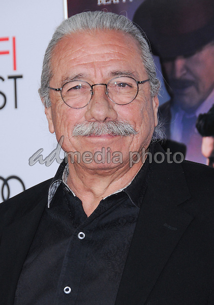"10 November 2016 - Hollywood, California. Edward James Olmos. AFI FEST 2016 - Opening Night Premiere Of ""Rules Don't Apply"" held at TCL Chinese Theater. Photo Credit: Birdie Thompson/AdMedia"