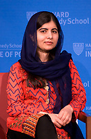 Malala Yousafzai, youngest Nobel Peace Prize recipient, advocate for girl's education, targeted and survived being shot in the head by the Taliban in Pakistan, now a student at Oxford who travels worldwide fighting for girl's rights to go to school.