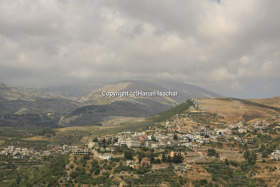 Golan Heights, Druze village Ein Kinya