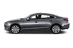 Car driver side profile view of a 2018 Mazda Mazda6 Skycruise 4 Door Sedan