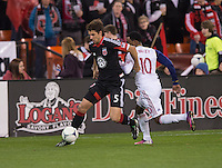 Robbie Findley, Dejan Jakovic.  D.C. United defeated Real Salt Lake, 1-0, at RFK Stadium.