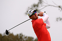 Brett Rankin (AUS) on the 4th tee during round 2 of the Australian PGA Championship at  RACV Royal Pines Resort, Gold Coast, Queensland, Australia. 20/12/2019.<br /> Picture TJ Caffrey / Golffile.ie<br /> <br /> All photo usage must carry mandatory copyright credit (© Golffile | TJ Caffrey)