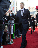 Nick Ellis (PC - 35) - The teams walked the red carpet through the Fan Fest outside TD Garden prior to the Frozen Four final on Saturday, April 11, 2015, in Boston, Massachusetts.