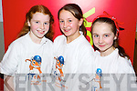 Pictured at the IT North Campus Creative Media Awards were l-r: Rachel O'Regan (Scoil Eoin Balloonagh) Gillian O'Toole (Scoil Eoin Balloonagh) Sadhbh Norris (Scoil Eoin Balloonagh).