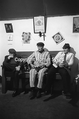 Biddy Boys Killorglin Co Kerry Eire Southern Ireland. 1972. February 2nd celebration of the Celtic Saint Brigid.