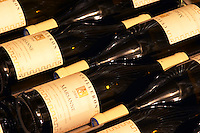 Bottles of Marsanne 2004. Domaine Yves Cuilleron, Chavanay, Ampuis, Rhone, France, Europe