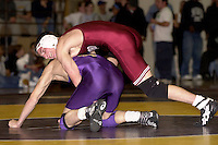 Nathan Peterson during Stanford's meet against SFSU on November 14, 2001 in San Francisco, CA.