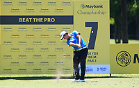 Sihwan Kim (USA) in action on the 7th during Round 3 of the Maybank Championship at the Saujana Golf and Country Club in Kuala Lumpur on Saturday 3rd February 2018.<br /> Picture:  Thos Caffrey / www.golffile.ie<br /> <br /> All photo usage must carry mandatory copyright credit (© Golffile | Thos Caffrey)