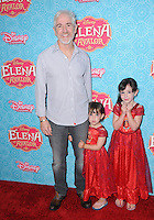 "16 July 2016 - Beverly Hills, California. Carlos Alazraqui, Rylee Alazraqui. Arrivals for the Los Angeles VIP screening for Disney's ""Elena of Avalor"" held at Paley Center for Media. Photo Credit: Birdie Thompson/AdMedia"