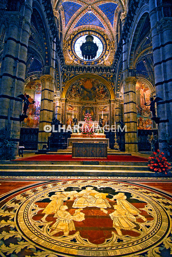 Duomo de Siena. Toscana. Itália. 2006. Foto de Luciana Whitaker.