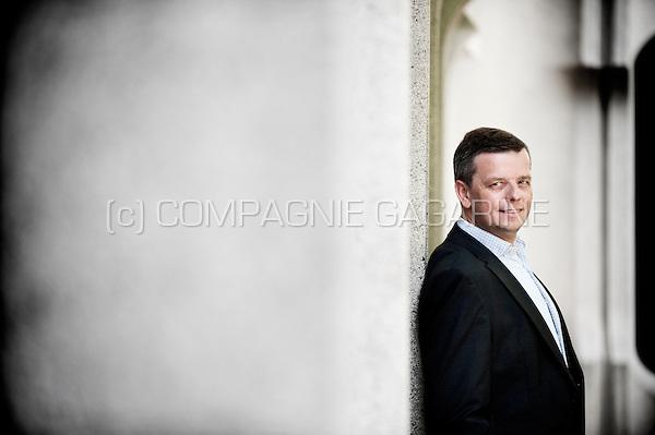Thierry Ternier, CEO of Keytrade Bank (Belgium, 24/06/2014)
