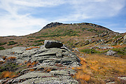 Mount Monroe from the Dry River Trail in the White Mountains, New Hampshire during the last days of summer.