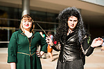 _E1_2501<br /> <br /> 1610-85 GCI Halloween Costumes<br /> <br /> October 31, 2016<br /> <br /> Photography by: Nathaniel Ray Edwards/BYU Photo<br /> <br /> &copy; BYU PHOTO 2016<br /> All Rights Reserved<br /> photo@byu.edu  (801)422-7322<br /> <br /> 2501