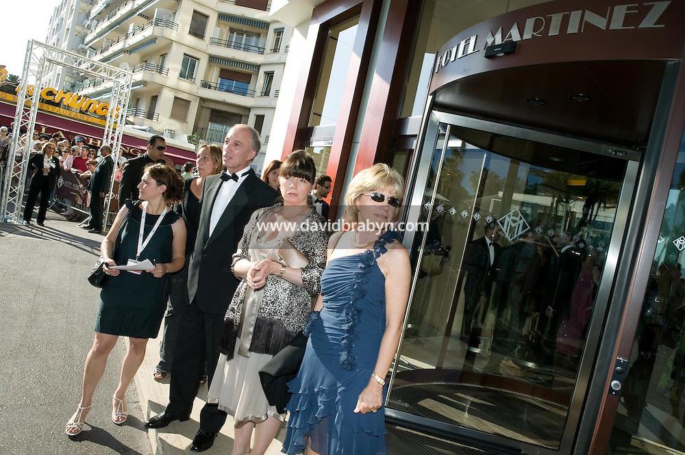 Dejeuner de presse, 20 ans de la Fondation Groupama-Gan pour le Cinema, Cannes, France, 18 mai 2007.
