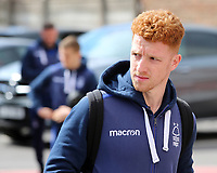 Nottingham Forest's Jack Colback arrives at the ground <br /> <br /> Photographer David Shipman/CameraSport<br /> <br /> The EFL Sky Bet Championship - Nottingham Forest v Blackburn Rovers - Saturday 13th April 2019 - The City Ground - Nottingham<br /> <br /> World Copyright © 2019 CameraSport. All rights reserved. 43 Linden Ave. Countesthorpe. Leicester. England. LE8 5PG - Tel: +44 (0) 116 277 4147 - admin@camerasport.com - www.camerasport.com