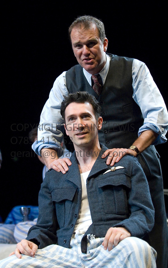 A Matter of Life and Death adapted by Tom Morris and Emma Rice based on the film by Michael Powell and Emeric Pressburger. With Tristan Sturrock as Peter,Douglas Hodge as Frank .Opens at The Olivier Theatre on 9/5/07   CREDIT Geraint Lewis